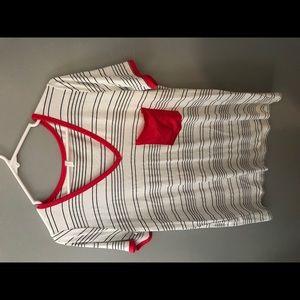 Soft shirt striped